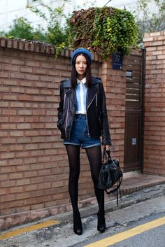 Seoul winter fashion. #streetstyle