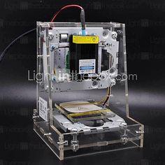neje 300MW la mini imagen máquina de grabado láser impresora láser logo cnc bricolaje - EUR €116.99