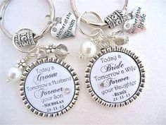 MOTHER of BRIDE Gift Mother of Groom WHITE by MyBlueSnowflake, $26.50
