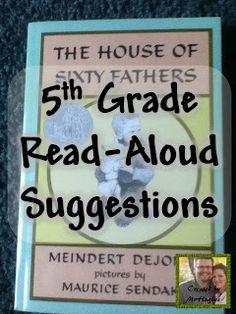 5th grade read aloud suggestions