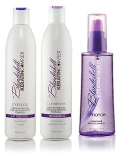 Keratin Complex Blondeshell $36  Love this stuff! It is liquid gold for your hair!