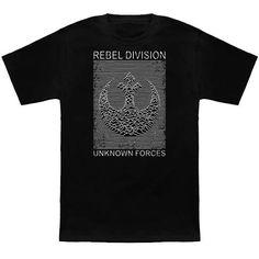 75459d2db6c5 Rebel Division Star Wars T-Shirt by Pigboom
