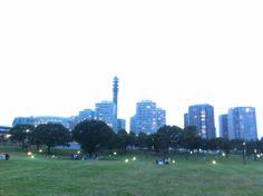 Rinkō Park in 横浜市, 神奈川県