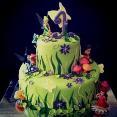 Tinker Bell Birthday Cakes | Tinkerbell Fairy Cake | Maddy Birthday Ideas