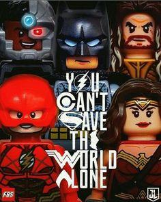 Das telas para O Mundo de Lego.
