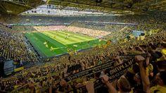 Borussia Dortmund tem público superior a 80 mil pessoas em todos os jogos em…