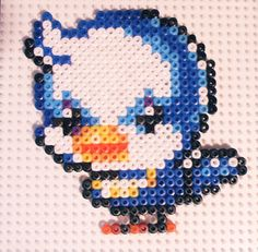 Maple Story Bluebird Beadsprite by applebombs, via Flickr