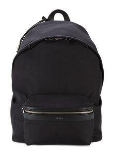Купить Saint Laurent большой рюкзак с логотипом.