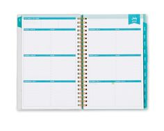 Day Designer  Peyton CYO Weekly/Monthly 5 x 8 Planner July 2015 - June 2016