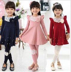 Бесплатная доставка новые мода принцесса девушка платье пачка с длинным рукавом детское платье для девочек осень весна 5 шт./лот оптовая продажа купить на AliExpress