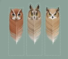 Fuck Yeah Bookmarks — Personalized Owl Bookmarks by Absolute Mint Creative Bookmarks, Bookmarks Kids, Paper Bookmarks, Pele Mele Photo, Harry Pitter, Harry Potter Bricolage, Animals That Hibernate, Harry Potter Bookmark, Bookmark Template