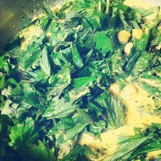 stinging nettle curry.