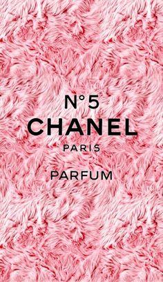 Imagen de chanel, pink, and wallpaper