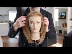 Long Layered Haircut Tutorial For Fine Hair | MATT BECK VLOG 35 ...