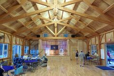 Hardwick Post & Beam - Custom timber frames that combines time-honored craftsmanship with modern engineering