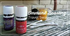 Homemade Immune Boosting Travel Swab This recipe is amazing because it is truly an 'ointment' and easy to swab in your nose with a cotton swab! Ingredients 2 Tbsp (1 ounce) Rose Ointment or Animal Scents Ointment 3 drops Exodus II essential oil blend 3 drops Egyptian Gold essential oil blend