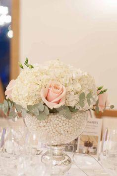 Mythe Barn Wedding Flowers ~ Menu Tasting Event