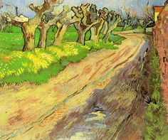 Pollard Willows by Vincent Van Gogh Handmade oil painting reproduction on canvas for sale,We can offer Framed art,Wall Art,Gallery Wrap and Stretched Canvas,Choose from multiple sizes and frames at discount price. Vincent Van Gogh, Monet, Desenhos Van Gogh, Van Gogh Arte, Van Gogh Landscapes, Van Gogh Paintings, Impressionist Artists, Art Van, Dutch Painters