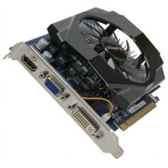 Gigabyte GV-N630-2GI GT630 2GB DDR3 128Bit PCI Express DVI/D-SUB/HDM ATX Video Card by Gigabyte. $72.91. Description:Using high quality components on graphics cards is the key factor for having a long lasting, stable and reliable product. GIGABYTE is again setting a new standard by using Ferrite Core Chokes, Low RDS (on) MOSFET and Lower ESR Solid Capacitors, providing the stability and reliability from their high-end graphics solution.In addition, GIGABYTE Ultra Durable ...