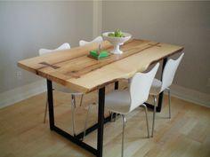 Tavoli in legno grezzo (Foto 28/40)   Design Mag