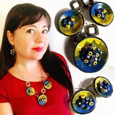 Indovinate un po' quale sarà il #tutorial del prossimo venerdì? ! Per non perderlo ricordatevi di iscrivervi al canale #YouTube : archidee . . . #buonadomenica #domenicacreativa #archidee #becreative #bepositive #polymerclay #polymerclayjewelry #necklace #earrings #earringsoftheday #earringstagram #technique #jeweldesigner #fashionjewelry #fashiongram #instafashion #fashionista #fashionblogger #handmade #handmadejewelry #supporthandmade #instajewelry #jewelsofinstagram #jewels #jewelrytrends…