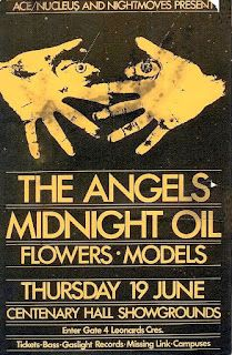 Midnight Oil: MIDNIGHT OIL - 19 Jun 1980 - «Nightmoves Concert» ... Rock Artists, Music Artists, Best Rock, Concert Posters, Album Covers, Pavilion, Concerts, Jun, Fandom