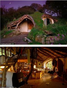 Man Builds Fairy Tale Home for His Family - For Only 3,000 British Pounds