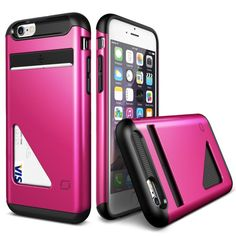 Lific Mighty Card Defense iPhone 6/6S - Hot Pink - Buymon
