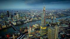 Nejvyšší mrakodrap v Evropě - londýnský Shard