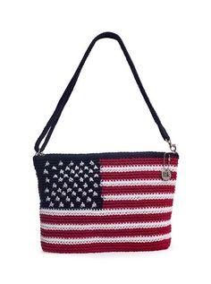 Betty Sue 3-in-1 Clutch, American Bag