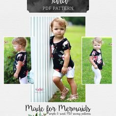 TTT8 Made For Mermaids, Sewing Patterns Girls, Quick Knits, Summer Baby, Pattern Making, Boutique Clothing, Babies, Knitting, Long Sleeve