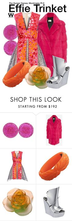 """""""The Hunger Games: Mockingjay Pt II"""" by wearwhatyouwatch ❤ liked on Polyvore featuring Chanel, Yves Salomon, Peter Pilotto, Daum, Melissa, wearwhatyouwatch and film"""