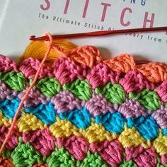 diagonaal haken - diagonal crochet