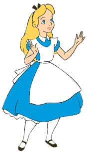 Alice in Wonderland Clipart - Quality Disney Clipart Images from Disney Clipart Galore