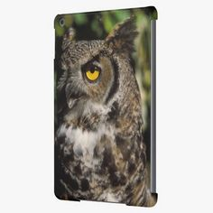 Awesome! This great horned owl, Stix varia, in the Anchorage iPad Air Case is completely customizable and ready to be personalized or purchased as is. It's a perfect gift for you or your friends.