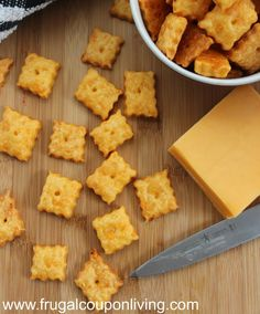 Copycat Cheez-It Recipe
