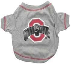 Ohio State Dog Tee Shirt * For more information, visit image link. (This is an Amazon affiliate link)