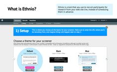 Ethnio : Recruiting for User Research