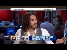Russell Brand Hijacks MSNBC Morning Joe and Shows Them How to do Their Job - June 17, 2013 - YouTube