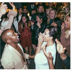 Kim Kardashian shares new Kanye West Wedding Photos | NYLON