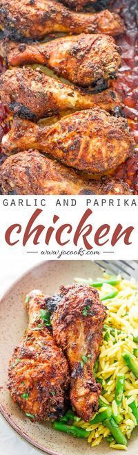 garlic and paprika chicken garlic and paprika chicken deliciously ...