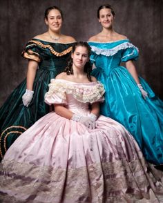 ballgowns by seven sisters civil war