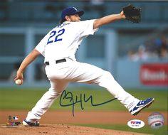 Clayton Kershaw Autographed Los Angeles Dodgers 8x10 Photo PSA/DNA ITP Stock #94441