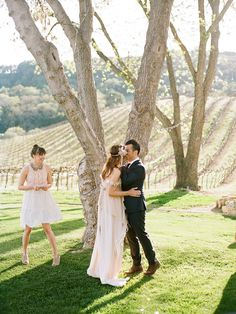 Hammersky Vineyards wedding | photo by The Why We Love | 100 Layer Cake 2014