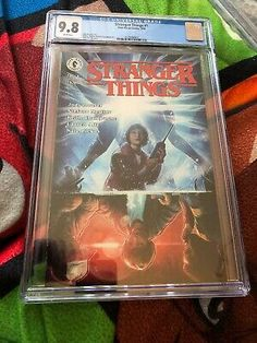Dark Horse Comics Stranger Things #1 Aleksi Briclot Cover CGC 9.8 Sept 2018 761568003413 | eBay Steve Dillon, Black Panther 1, Comic Books For Sale, Amazing Spiderman, Comics Universe, Ghost Rider, Dark Horse, Stranger Things, Marvel Comics