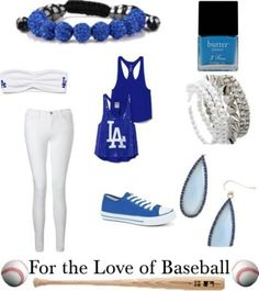 Cute outfit for my next Dodgers game.Go Dodgers! Dodgers Outfit, Dodgers Gear, Let's Go Dodgers, Dodgers Nation, Dodgers Baseball, Dodgers Apparel, Sport Outfits, Casual Outfits, Cute Outfits