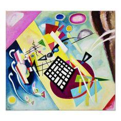 Kandinsky Black Grid Poster