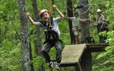 Zipline at Red Mountain Park - This park offers a beautiful zip tour of the local woods as well as beautiful hiking and biking trails- and soon a dog park!