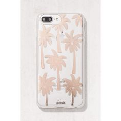 Sonix Vintage Palms iPhone 6 Plus/7 Plus Case (670 MXN) ❤ liked on Polyvore featuring home, home decor, golden palm, vintage palm trees, vintage home accessories and vintage home decor