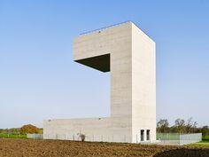 Wasserturm »Gemeng Dippech« - Paul Bretz Architectes